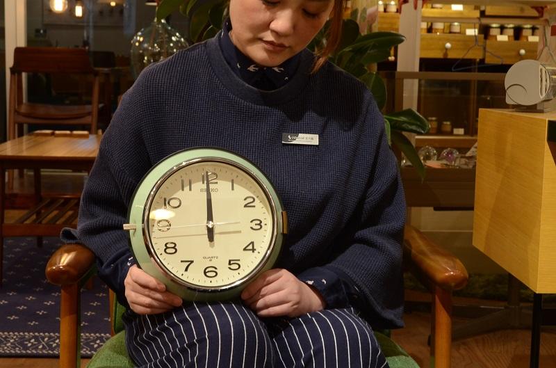 SEIKOクロックバス時計 21,600円 W22.0×H6.0cm
