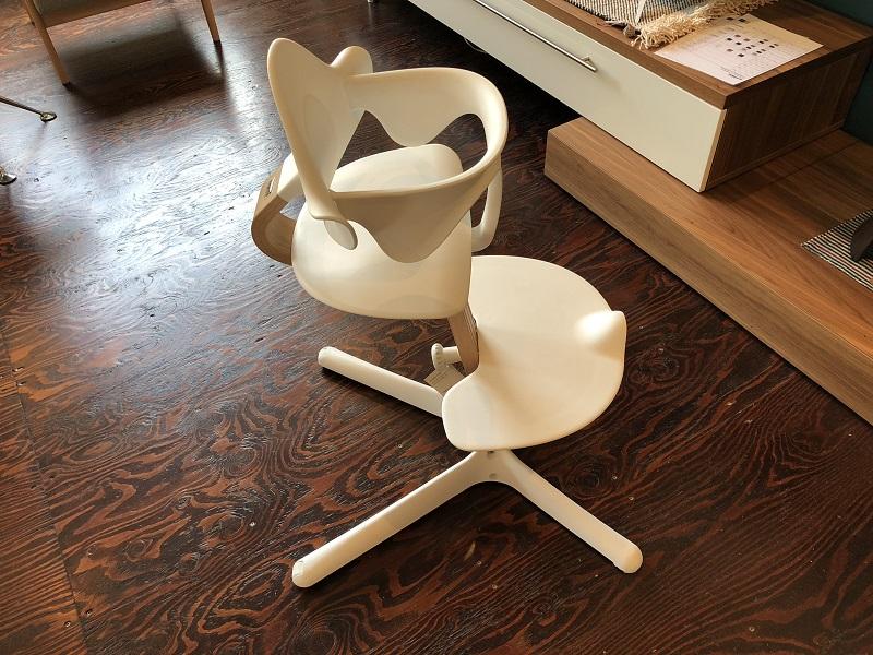 こちらはnomi highchair+nomi mini 46,440円(税込)