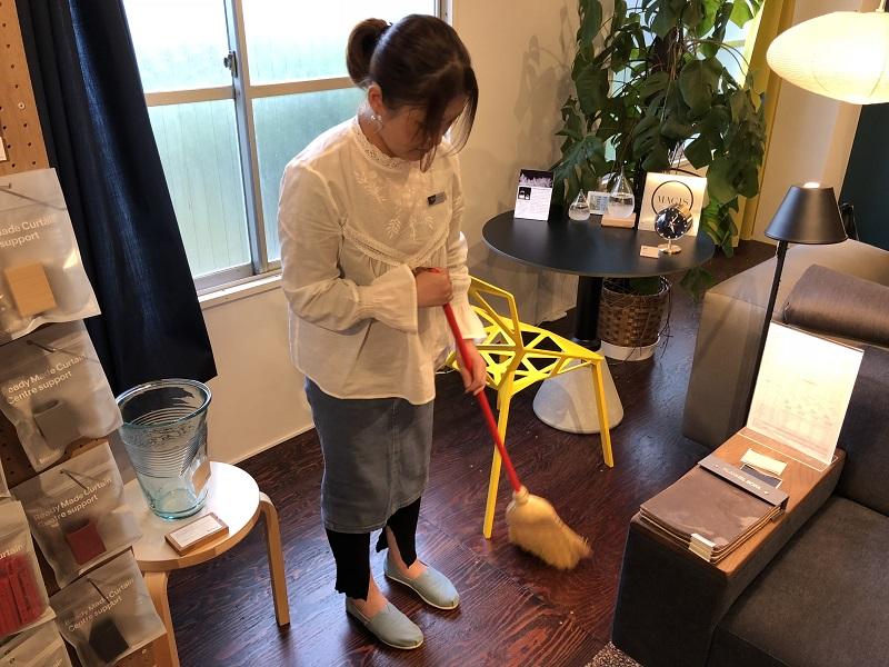 Children Broom(ほうき)/110cm 1,836円(税込)