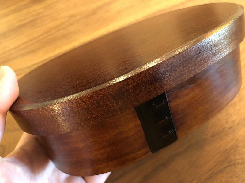 ヒノキを使用した木曽漆器