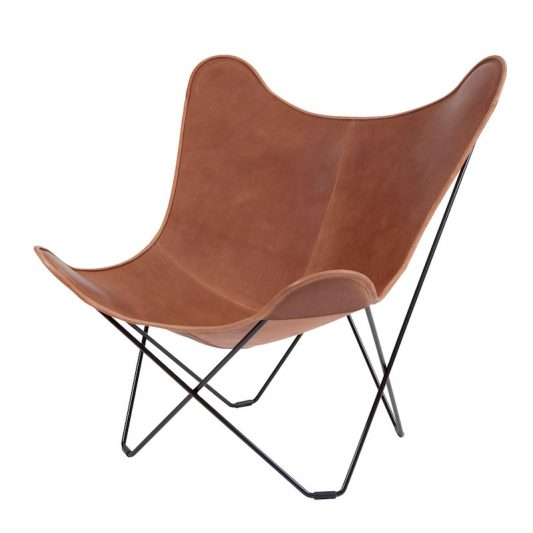 CUERO(クエロ)/ BKF BUTTERFLY CHAIR MARIPOSA BROWN