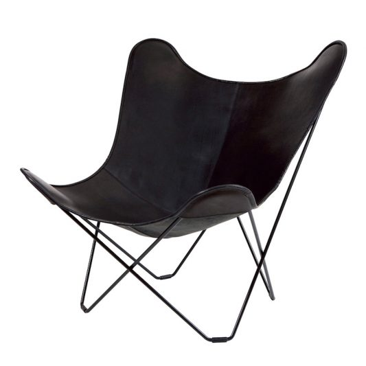 CUERO(クエロ)/ BKF BUTTERFLY CHAIR MARIPOSA BLACK