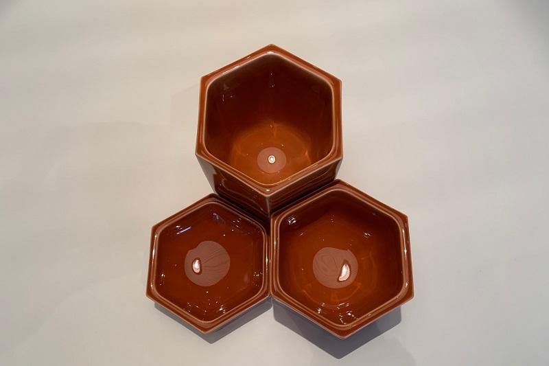 六角形を貴重としたデザイン